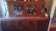 Антикварная мебель (горка - буфет)
